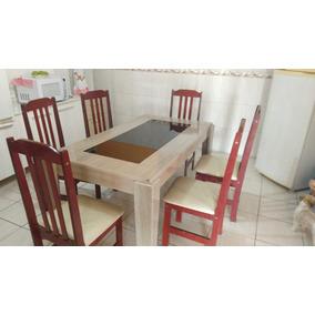Vendo Mesa De 6 Cadeiras