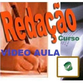 Aulas De Redação! Curso Em 1 Dvd Wer
