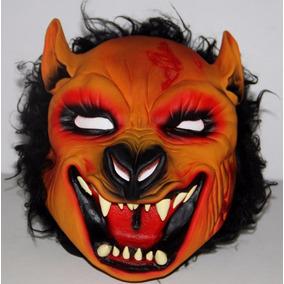 Máscara Lobo Mau Fera Pelo Látex Fantasia Halloween Cosplay