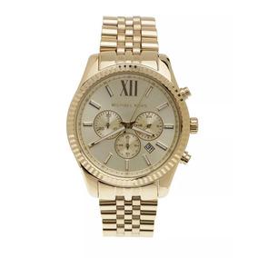 9fad2e3c7e0be Relógio Michael Kors Masc. Dourado Mk 8281 - Relógios De Pulso no ...