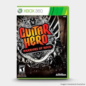 Guitar Hero: Warriors Of Rock: Original Xbox 360 - Novo