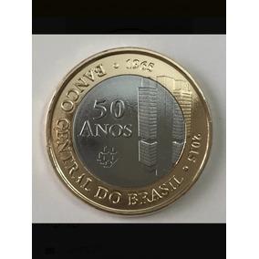 Moeda Comemorativa 50 Anos Banco Central