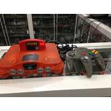 Nintendo 64 Naranja