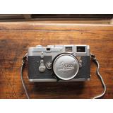Leica M3 La Mejor Cámara De La Historia Y Lente Elmar 50 Mm
