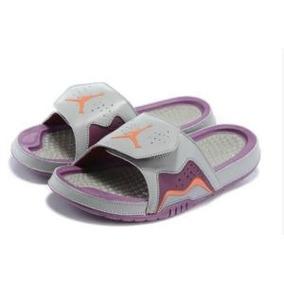 66534a567b9 Sandália Nike Air Jordan Sandalias Chinelos Feminino - Chinelos Nike ...