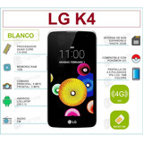 Lg K4 Lte K120 Pantalla 4.5 8gb+1gb Msi Liquidacion+regalo