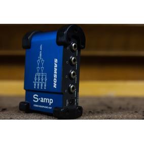 Samson S Amp - Stereo Headphone Amp