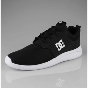 Tenis Dc Black White Adys700097