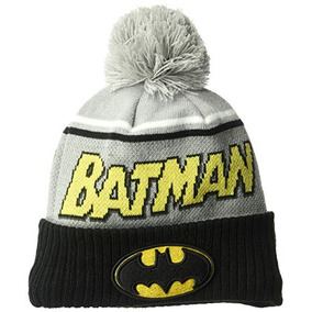 New Era Gorra Para Hombre Joven Batman Jumbo Cheer Pom Knit c983796e983