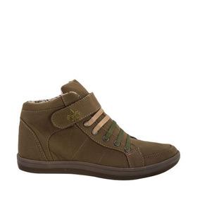 Tenis Bota Casual Urbano Urban Shoes 7 Verde De Dama