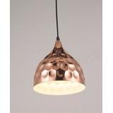 Lámpara Colgante Vintage Copper Drop Decoración Color Cobre