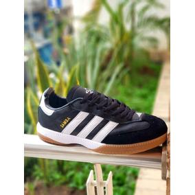 watch a8d32 8a734 Tenis Zapatillas adidas Samba 2 Negra Blanca Hombre Envio Gr
