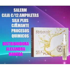 Oferta Salerm Caja Ampolleta Silk Plus Calmante Decoloracion