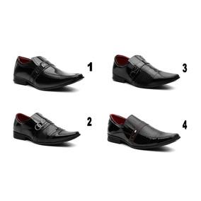 eb9cbb769 Sapato Social 4 Pelo Preço De 2 Top De Linha Frete Gratis