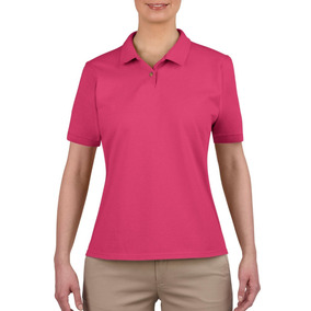 88143f72d555a Playera Color Rosa Palo - Playeras Polo en Mercado Libre México