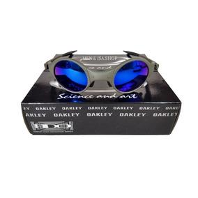Oculos Oakley Mars Medusa X-metal Azul +certificado+teste d0df8b16821