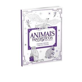 Animais Fantasticos E Onde Eles Habitam - Livro De Colorir