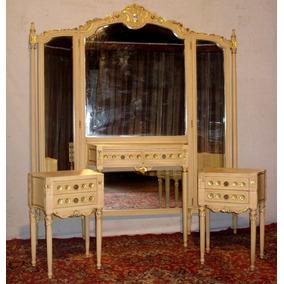 Don Emilio Antiguo Juego Dormitorio Frances Luis Xvi Complet