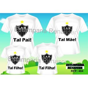 Kit Camiseta Tal Mãe Tal Pai Tal Filho(a) - Time C 4 899eaf048c16a