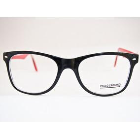 41f99f9911e2e Armação De Óculos Quadrado Grande Vermelho - Óculos no Mercado Livre ...