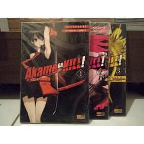 Akame Ga Kill. Volumes 1, 2 E 3