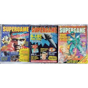 Lote De Revistas Supergame - 3 Edições - Raras