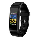 Pulseira Colorida Smartband Monitor Esporte Fitness Saude