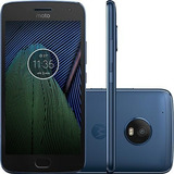 Motorola Moto G5 Plus Azul 32gb 4g Xt1683 Tvhd 12mp- Vitrine