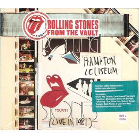 Dvd+2cds Rolling Stones From The Vault 1981 Novo Lacrado!!
