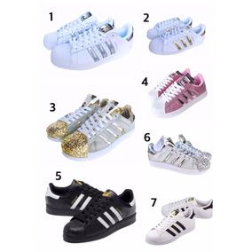 2bd55ee9f64 Adidas Superstar Blancas Talle 36 - Zapatillas Adidas Urbanas Talle ...