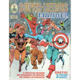 Album Super-herois Marvel S/figurinhas