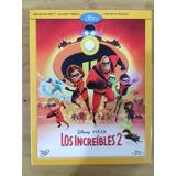 Los Increibles 2 Bluray + Bonus + Dvd