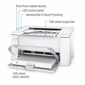 Impressora Hp Pro Laserjet M102w Wireless Tonner Wi-fi Top.