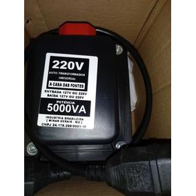 Auto Transformador 5000va 110v /220v Ar Cond 12000 Btu