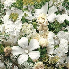 Guardanapo Floral Dream, 33x33 Cm - Paper Design