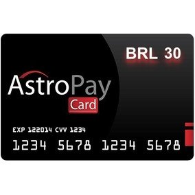 Cards Para Ps Astropay Brl Ou Usd