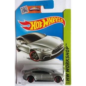 Tesla Model S Hot Wheels Workshop 2015 217/250 1:64