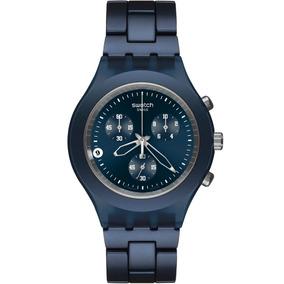 Relógio Swatch Svcn4004ag + Garantia De 1 Ano + Nf