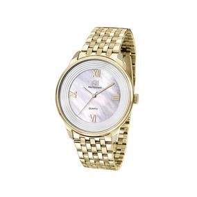 Relógio De Pulso Ana Hickmann Feminino Dourado Ah28919h
