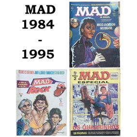 Lote Revistas Mad (1984 A 1995) - Envio Grátis - Escolha 1
