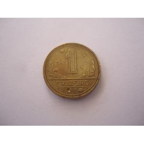 Moeda Bronze 1 Cruzeiro 1949 Hidrografia República Brasil