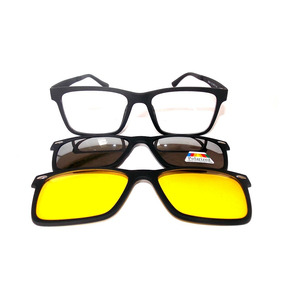 Oculos Com Clipon 3 Armacoes Outras Marcas - Óculos no Mercado Livre ... 16d73cd39b