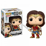 Funko Pop Wonder Woman 206 Dc La Liga De La Justicia