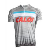 Camisa Ciclismo Caloi Cinza