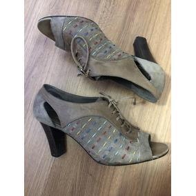 Sandália Tipo Ankle Boot Arezzo - Original
