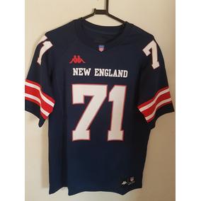 Camiseta New England Kappa Torcedor Futebol Americano c459c81e23789