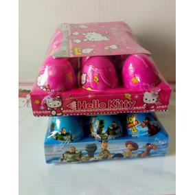 Caja 12 Huevos Sorpresa Kitty Toy Story