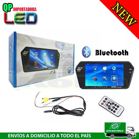 Pantalla Retrovisor De 7 Pulgadas Mp5 Bluetooth Usb Sd