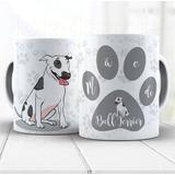 Caneca Mãe De Cachorro Bull Terrier Cód: 1657g5-5