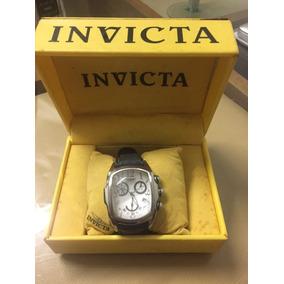 Invicta Relógio Chronograph Clássico Pulseira Couro